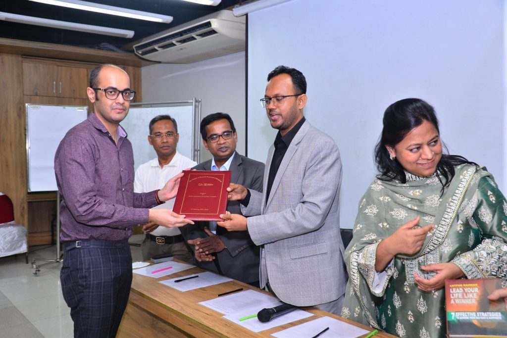 Mr. Saami Alam (Chief Rating Officer) has successfully completed two day work shop on Project Management and Strategic Learning at the Institute of Chartered Accountants of Bangladesh from 26 February 2021 to 28 February 2021.