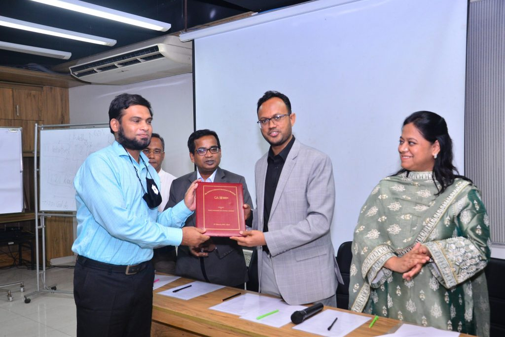 Our Director & COO Mr. Arifur Rahman FCCA, ACA has successfully completed two day work shop on Project Management and Strategic Learning at the Institute of Chartered Accountants of Bangladesh from 26 February 2021 to 28 February 2021.