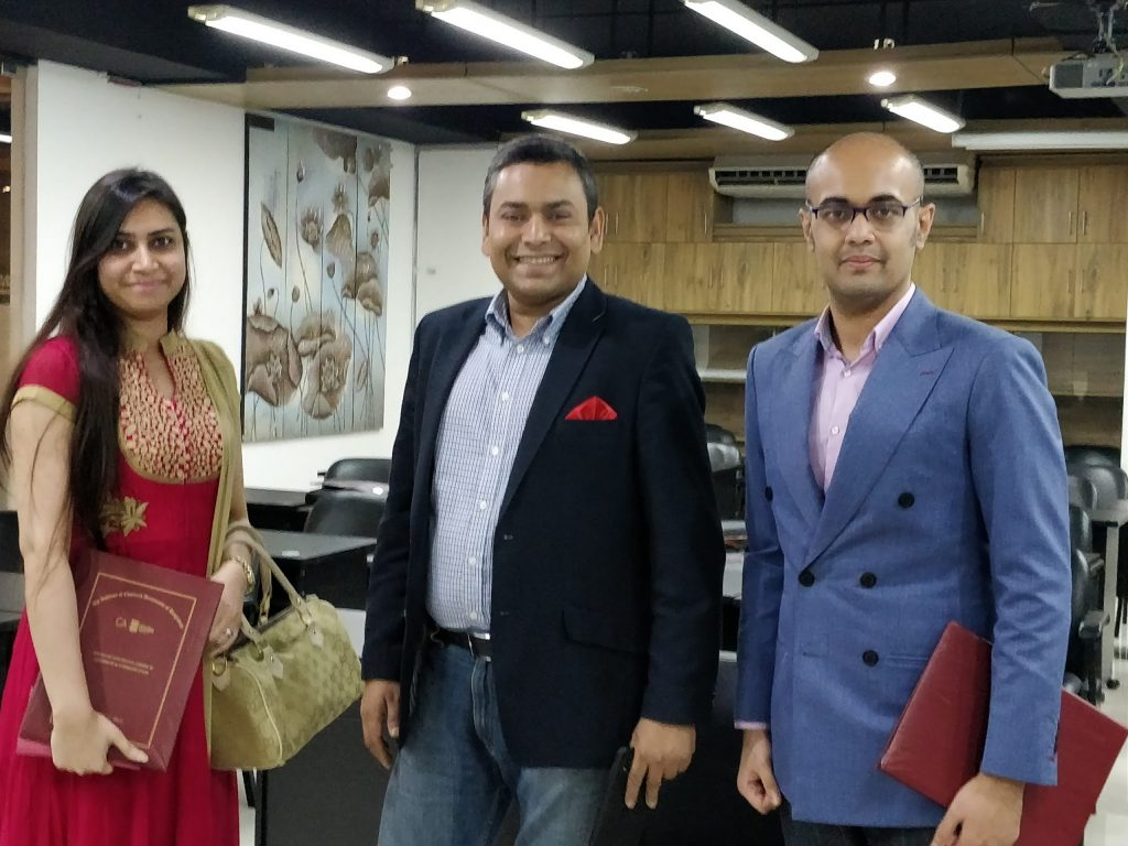 Training Session conducted in Institute of Chartered Accountants of Bangladesh (ICAB) attended by Top Officials of Emerging Credit Rating Limited (ECRL)